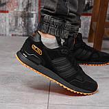 Кроссовки мужские 18163, Adidas ZX 750, черные, [ 43 44 45 46 ] р. 41-26,5см., фото 7