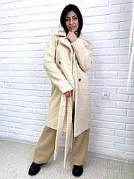 Пальто из букле 46, Молоко