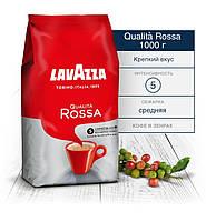 """Кофе Lavazza Qualita Rossa в зернах 1кг. """"Арабика 40% / 60% Робуста """" (100% Италия - Оригинал), фото 1"""