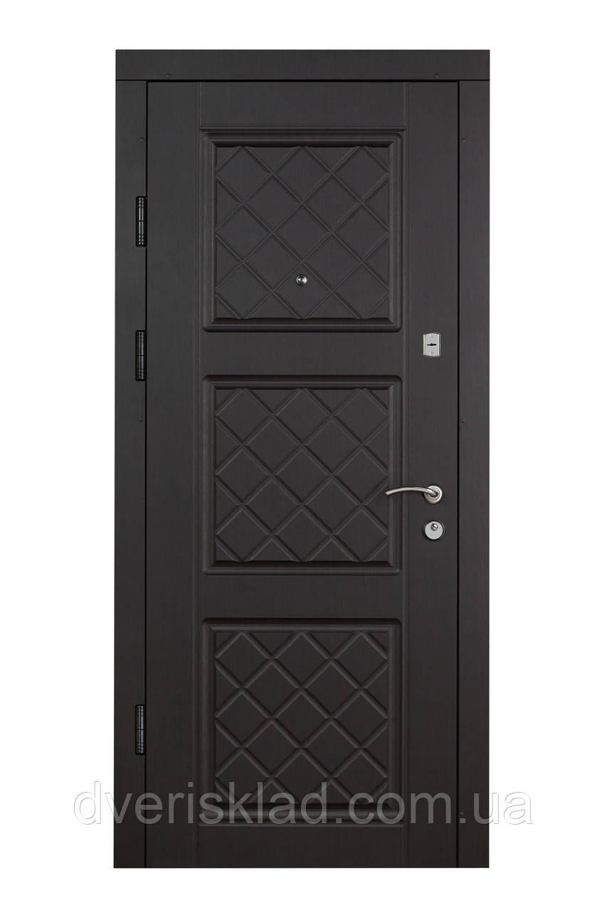 Двери входные Цитадель Комфорт Верона комби