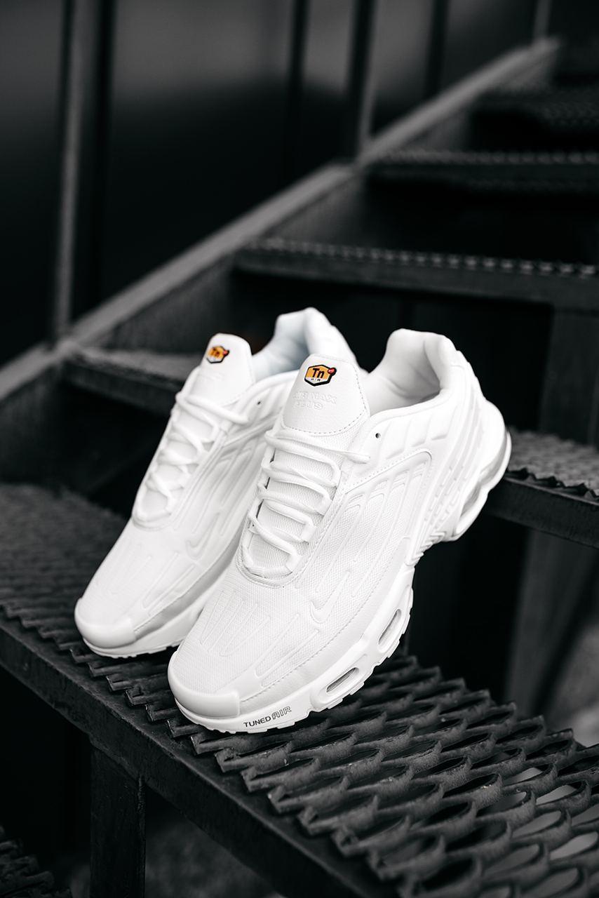 Женские белые Кроссовки Nike Air Max Plus 3