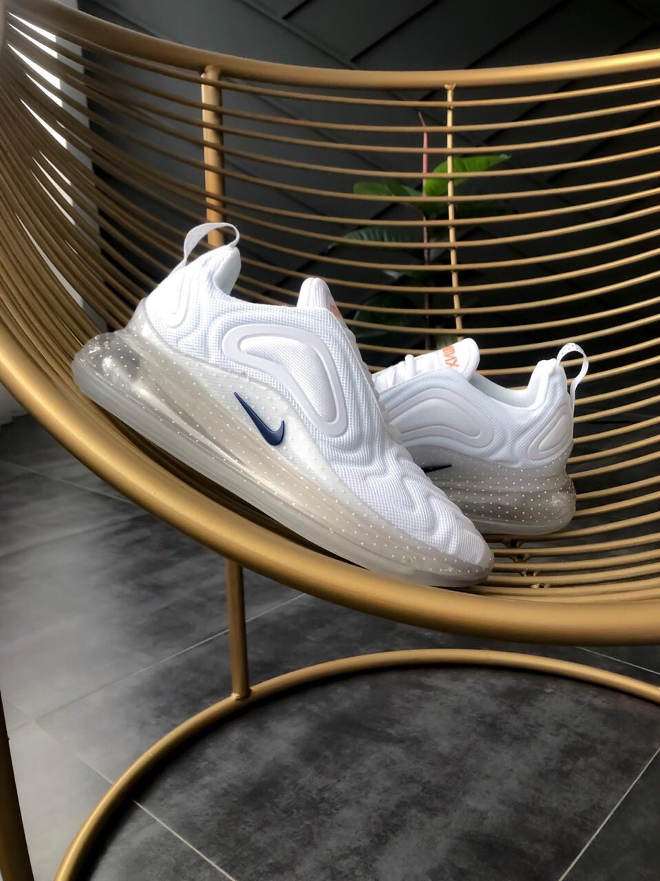 Белые женские Кроссовки Nike Air Max 720