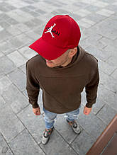 Мужская красная бейсболка реплика