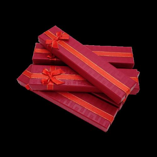 Коробочка под браслет box2-1 Красный