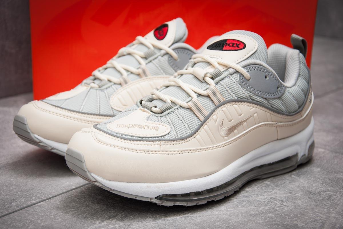 Кроссовки мужские 12675, Nike Aimax Supreme, бежевые, < 41 42 43 45 > р. 41-26,0см.