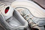 Кроссовки мужские 12675, Nike Aimax Supreme, бежевые, < 41 42 43 45 > р. 41-26,0см., фото 6