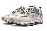 Кроссовки мужские 12675, Nike Aimax Supreme, бежевые, < 41 42 43 45 > р. 41-26,0см., фото 7