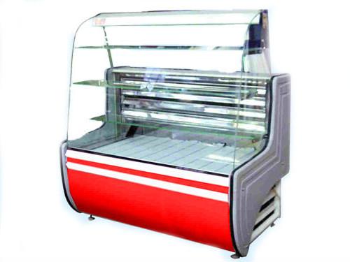 Кондитерская холодильная витрина Айстермо  ВХК ОРБИТА 2.0 гнутое стекло (статика)