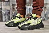 Кросівки чоловічі 15524, Adidas Yeezy 700, зелені, < 41 42 43 44 45 > р. 41-26,5 див., фото 2
