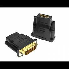 Переходник видео, адаптер Atcom DVI-D в HDMI