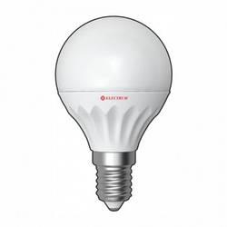 LED лампа E14 Electrum шар LB-11 4W (320Lm)  2700K пластик. корп.
