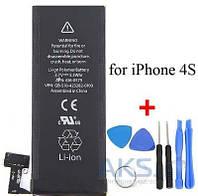 Аккумулятор Apple iPhone 4S (1430 mAh) Original + набор для открывания корпусов iPhone (86018)