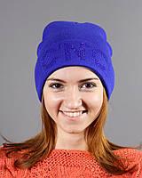 Молодежная женская шапочка