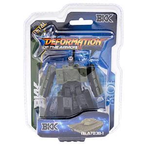 Трансформер A7037-38-39-1-2 (72шт) 8см, робот+воен, (Оригинал)