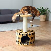 Напольный домик-когтеточка для кошек Trixie Toledo