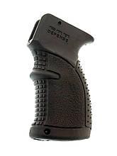 Прорезиненная пистолетная рукоять AGR-47 черная для АК-47/74, Вепрь, Сайга