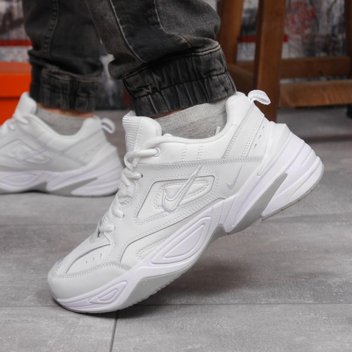 Кроссовки мужские 18201, Nike M2K Tekno, белые, [ 41 42 43 44 45 46 ] р. 41-26,2см.