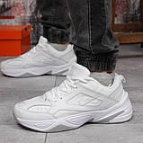 Кроссовки мужские 18201, Nike M2K Tekno, белые, [ 41 42 43 44 45 46 ] р. 41-26,2см., фото 2