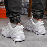 Кроссовки мужские 18201, Nike M2K Tekno, белые, [ 41 42 43 44 45 46 ] р. 41-26,2см., фото 4