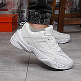 Кроссовки мужские 18201, Nike M2K Tekno, белые, [ 41 42 43 44 45 46 ] р. 41-26,2см., фото 6