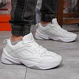 Кроссовки мужские 18201, Nike M2K Tekno, белые, [ 41 42 43 44 45 46 ] р. 41-26,2см., фото 7