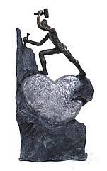 Статуэтка ITALFAMA из смолы и бронзы The Discovery Of Love Открытие любви  (SR44426)