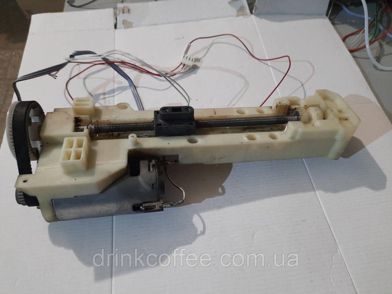 Привод заварочного блока в сборе для кофемашины Delonghi ECAM 23.450 б/у
