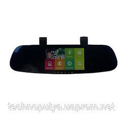 Дзеркало-відеореєстратор заднього виду DVR CT600 з Android, WiFi і GPS 2 камери