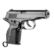 Пистолетная рукоять на Макаров левосторонняя PM-G Left Bl Black