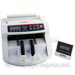 Машинка для счета денег счетчик банкнот c детектором валют HLV MG2089 UV (004398)