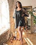 Комплект халат+сорочка, фото 3