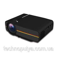 Проектор мультимедійний з динаміком LEJIADA Led Projector YG400 Black (006944)