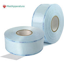 Упаковка для стерилизации, рулон со складкой 100мм x 52мм x 100м