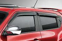 Nissan Juke 2011-16 ветровики дефлекторы окон новые оригинал