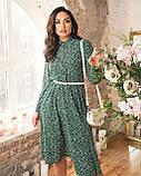 Платье зеленое, фото 2