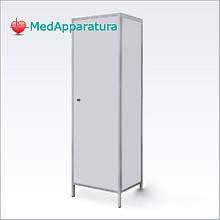 Шкаф для халатов медицинский ШХМ одностворчатый