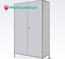 Шкаф для халатов медицинский ШХМ-2 двухстворчатый