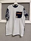 Яркие трендовые футболки для мальчиков 158-170см, фото 3