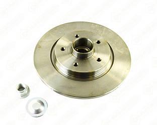 Гальмівний диск задній з підшипником 274mm. на Renault Kangoo II 2008-> - Renault (Motrio) - 8660003913