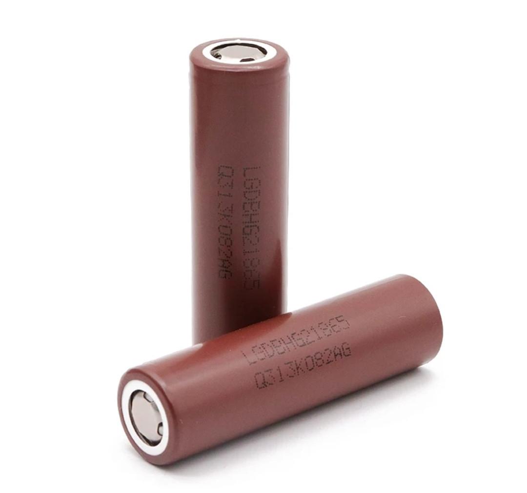 Аккумулятор высокотоковый LG INR18650 HG2 3,6V 3000mA Li-Mn 20А! (1шт.)