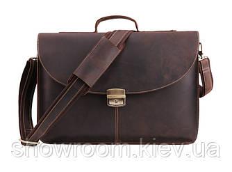 Мужской кожаный портфель Wild Leather (1158)