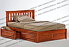 Двухспальные кровати Жасмин