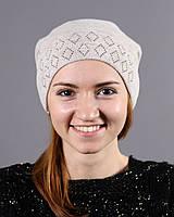 Шерстяная женская шапочка