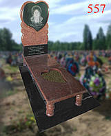 Памятник под заказ в форме сердца, фото 1