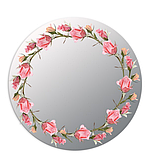 "Дзеркало ""Rose art"", фото 2"