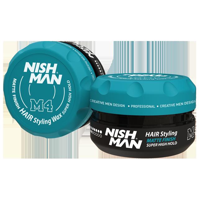 Матова помада для укладання волосся Nishman Matte Pomade М4 100мл