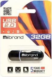Флеш-пам'ять USB Mibrand Panther 32GB USB 2.0 Black