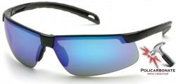 Очки EVER-LITE (ice blue mirror) черные линзы с голубым зеркальным покрытием