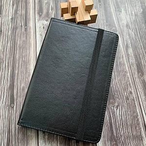 Чехол книга для планшета 7 дюймов черная универсальная чехол книжка с крючками подставка