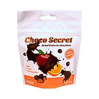 Конфеты из сухофруктов в шоколаде Choco Secret. Яблоко в цитрусовой оболочке, 50 г